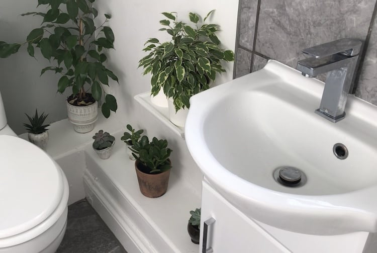 From old British Loo to Modern Scandi Bathroom…