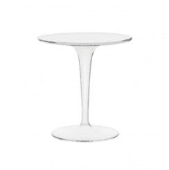 acrylic clear round table