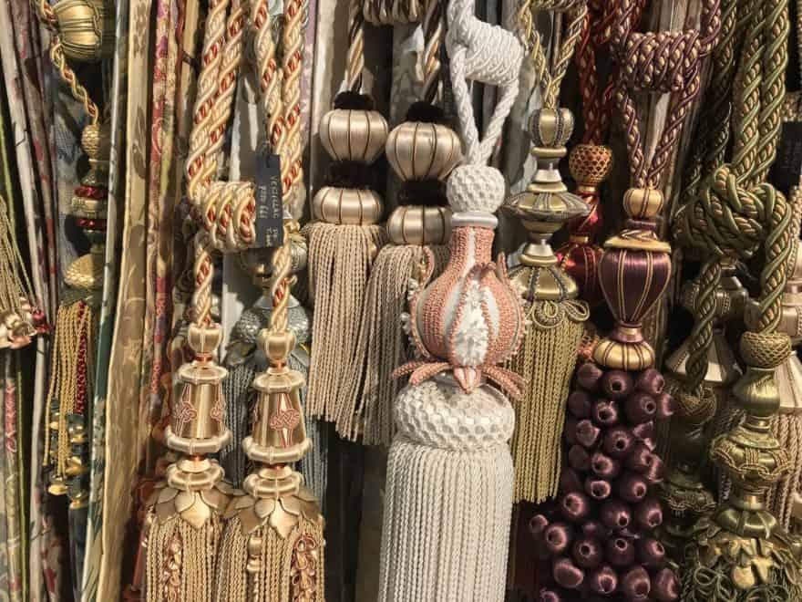 curtain tie backs scandi boho luxe