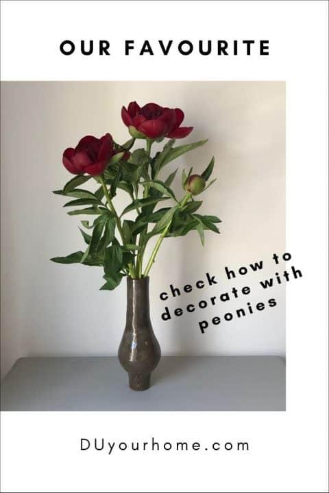 how to decorate with peonies indoor garden ideas