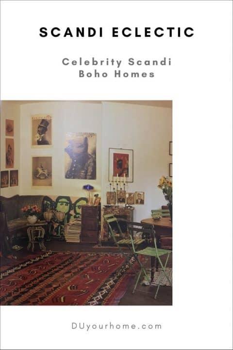 scandi boho helena christensen home living room