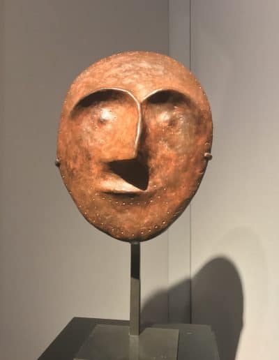 Mask 1 bronze sculpture by William Turnbull