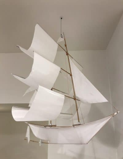 ship decor lamp