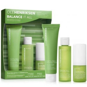 Ole Henriksen skincare Balance It All essential travel set
