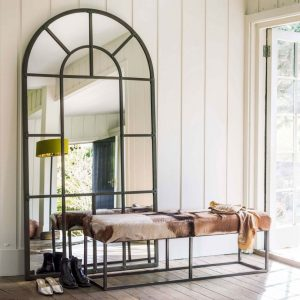 Large Window Pane Mirror by Graham and Green