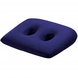 Sit bone cushion for working and travelling with two holes to relieve back pain