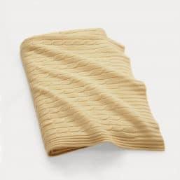 Cashmere blanket dark creme