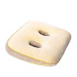 Soft beige memory foam sit cushion