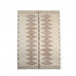 Natural handwoven rug