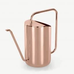 Copper minimalist watering can