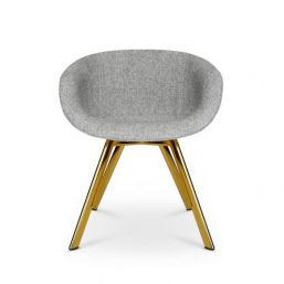 Exquisitely simple dining chair
