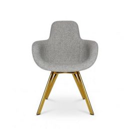 High backed dining chair by Tom Dixon