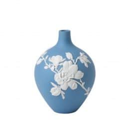 Wedgwood vase in pastel blue