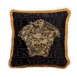 Versace Medusa design cushion