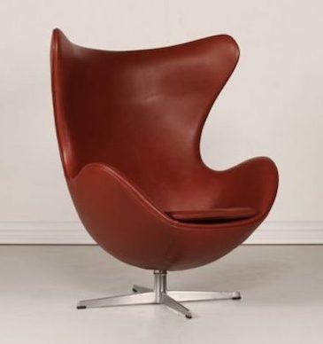 The Egg Chair, original design Arne Jacobsen