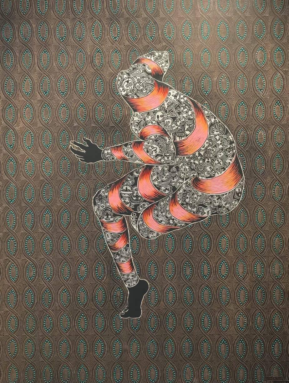 Art by Sthenjwa Luthuli at Unit London gallery