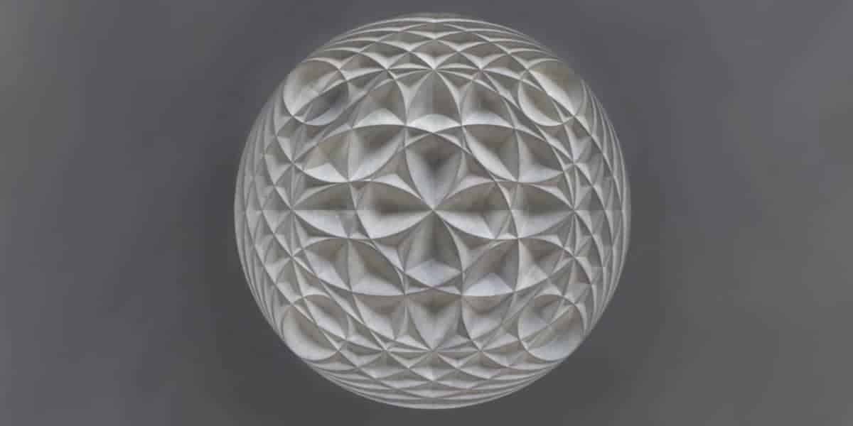 Stone carving wall art by Zoe Wilson