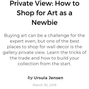 Buying Art Challenge