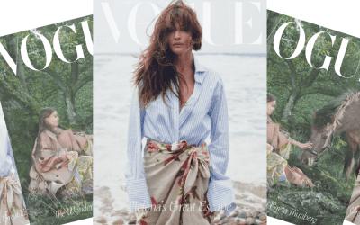 Danish Supermodel Helena Christensen covers new Vogue Scandinavia