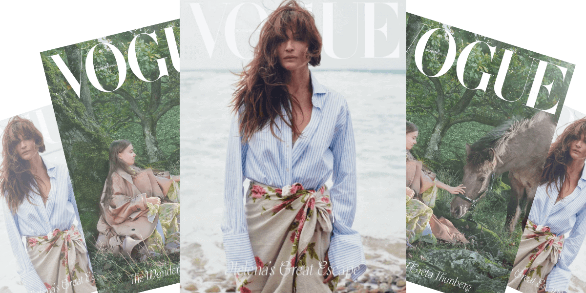 Helena Vogue Cover